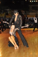 Mykyta Serdyuk &amp; Anastasia Biatova at Dutch Open 2008
