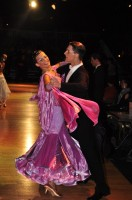 Dusan Dragovic & Ekaterina Romashkina at Dutch Open 2008
