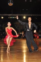 Sergio Bessonovs & Nataliya Kravets at Dutch Open 2008