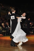 Domen Krapez & Monica Nigro at Dutch Open 2008