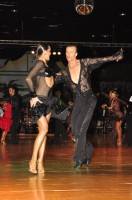 Igor Boev & Kristina Dinovets at Dutch Open 2008
