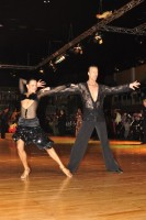 Igor Boev &amp; Kristina Dinovets at Dutch Open 2008