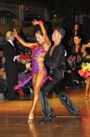 Cristian Bertini & Lucia Bertini at Dutch Open 2008