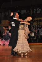Alessio Potenziani & Veronika Vlasova at Dutch Open 2008