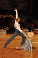 Cedric Meyer & Angelique Meyer at WDC World Professional Latin Championships
