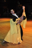Roch De Fornel & Salina Barreaux at Dutch Open 2008