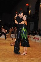 Sergey Sourkov & Agnieszka Melnicka at WDC World Professional Latin Championships