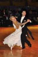 Oscar Pedrinelli & Kamila Brozovska at Dutch Open 2008
