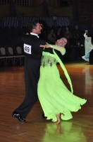 Olivier Menaphron &amp; Patricia Nicolo at Dutch Open 2008
