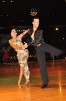 Benedetto Capraro &amp; Marta Faiola at Dutch Open 2008