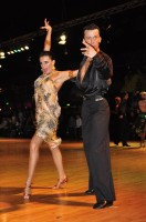 Benedetto Capraro & Marta Faiola at Dutch Open 2008