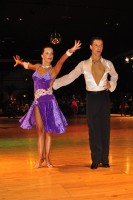 Peter Majzelj & Maja Gersak at Dutch Open 2008