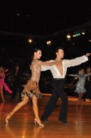Alessandro Camerotto &amp; Nancy Berti at Dutch Open 2008