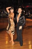 Raffaele Esposito & Pina Esposito at Dutch Open 2008