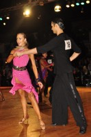Lyubomir Asenov & Loreta Kriksukaityte at Dutch Open 2008