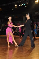 Lyubomir Asenov &amp; Loreta Kriksukaityte at Dutch Open 2008