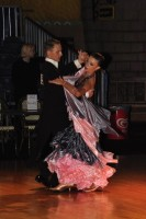 Dmytro Dakhnovskyi & Anna Sukach at Dutch Open 2008