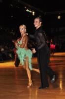 Andriy Dykyy & Iryna Zhebrak at Dutch Open 2008