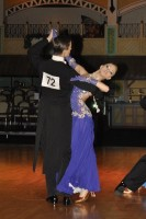Vadim Negrebetskiy & Yanina Krempets at Dutch Open 2008