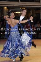 Dusan Dragovic & Ekaterina Romashkina at Blackpool Dance Festival 2009