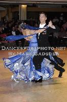 Dusan Dragovic &amp; Ekaterina Romashkina at Blackpool Dance Festival 2009