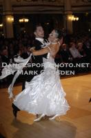 Dusan Dragovic & Ekaterina Romashkina at Blackpool Dance Festival 2010
