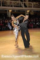 Ilia Borovski &amp; Veronika Klyushina at Blackpool Dance Festival 2009