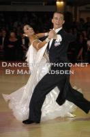Domen Krapez & Monica Nigro at Blackpool Dance Festival