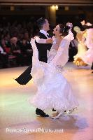 Domen Krapez & Monica Nigro at Blackpool Dance Festival 2008