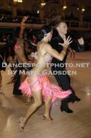 Michael Johnson & Sally Rose Beardall at Blackpool Dance Festival 2012