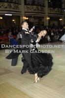 Michael Johnson &amp; Sally Rose Beardall at Blackpool Dance Festival 2012