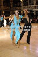 Anton Sboev & Patrizia Ranis at Blackpool Dance Festival 2010