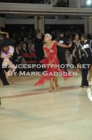 Jurij Batagelj &amp; Jagoda Batagelj at Blackpool Dance Festival 2012
