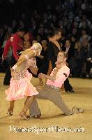 Jurij Batagelj & Jagoda Batagelj at UK Open 2007