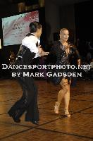 Steven Greenwood & Jessica Dorman at Crown DanceSport Championships