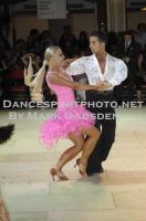 Steven Greenwood & Jessica Dorman at Blackpool Dance Festival 2012