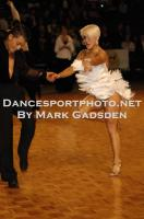 Steven Greenwood & Jessica Dorman at 2010 FATD National Capital Dancesport Championships
