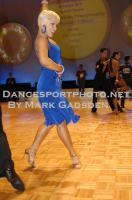 Steven Greenwood & Jessica Dorman at South Pacific Dancesport Championships 2010