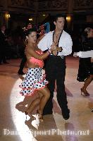 Ramon Renting &amp; Charlotte Stella at Blackpool Dance Festival 2009