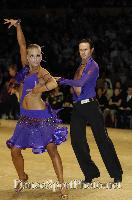 Andrew Cuerden & Hanna Haarala at UK Open 2007