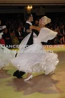 Anton Lebedev & Anna Borshch at Blackpool Dance Festival
