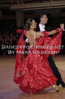Anton Lebedev & Anna Borshch at Blackpool Dance Festival 2009