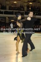 Andrej Skufca & Melinda Torokgyorgy at Blackpool Dance Festival 2012