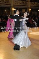 Qi Dang & Sun Yajie at Blackpool Dance Festival 2010