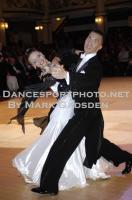 Victor Fung & Anastasia Muravyova at Blackpool Dance Festival 2010