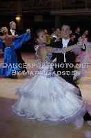 David Moretti & Francesca Sfascia at Blackpool Dance Festival 2009
