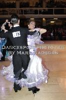 David Moretti &amp; Francesca Sfascia at Blackpool Dance Festival 2009