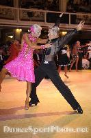 Peter Stokkebroe & Kristina Stokkebroe at Blackpool Dance Festival 2008