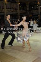 Mykyta Serdyuk &amp; Anna Krasnishapka at Blackpool Dance Festival 2012