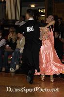 Marco Lustri & Alessia Radicchio at Blackpool Dance Festival 2007